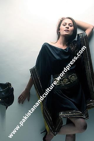 Nausheen-Shah-Fashion-Show+pictures+pakistan